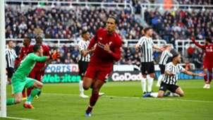Virgil Van Dijk Liverpool Premier League