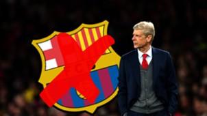 Arsene Wenger Barcelona Composite