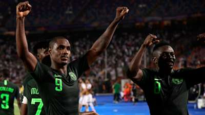 Odion Ighalo, Jamilu Collins - Algeria vs Nigeria