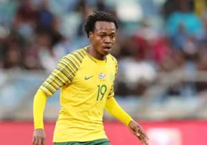 ATTACKING MIDFIELDER | Percy Tau is one of the first names in the Bafana starting line-up and he could be key to the team's victory over Libya.