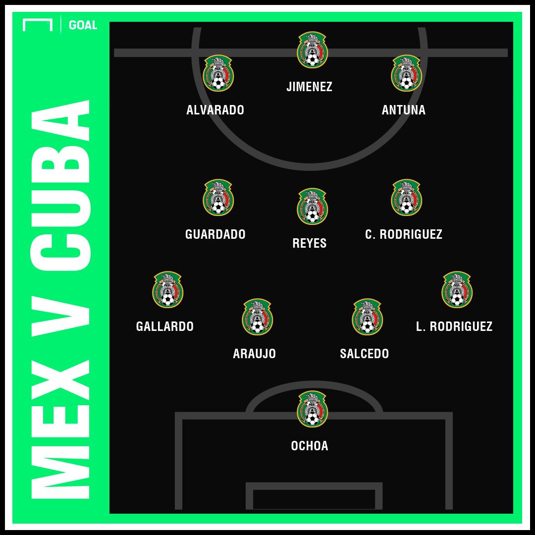 GFX Mexico Cuba actual XI