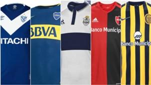 Mejores camisetas superliga futbol argentino 2017