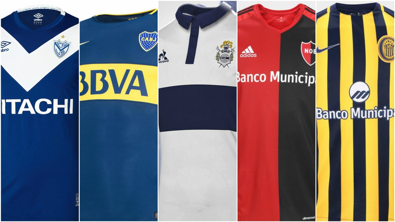Resultado de imagen para camisetas primera division argentina