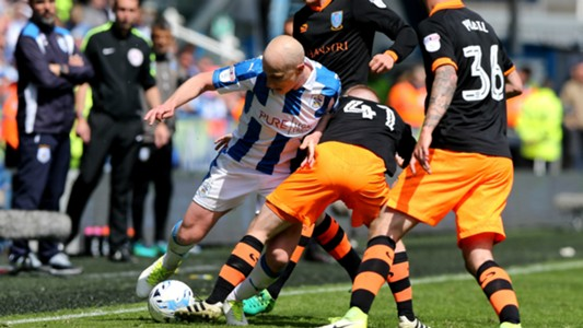 Aaron Mooy Huddersfield Town v Sheffield Wednesday Championship 14052017