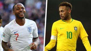 Raheem Sterling Neymar Split