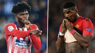 Thomas Partey, Paul Pogba