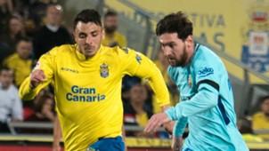 Lionel Messi Ximo Navarro Jimenez Barcelona Las Palmas