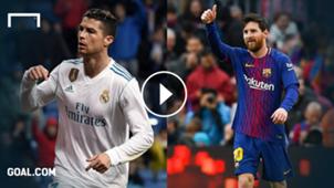Messi CR7 Playbutton