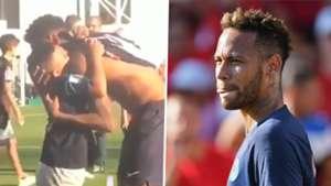 Neymar PSG 2018 split