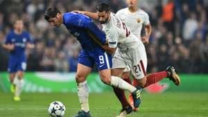 Morata Gonalons Chelsea Roma Champions League