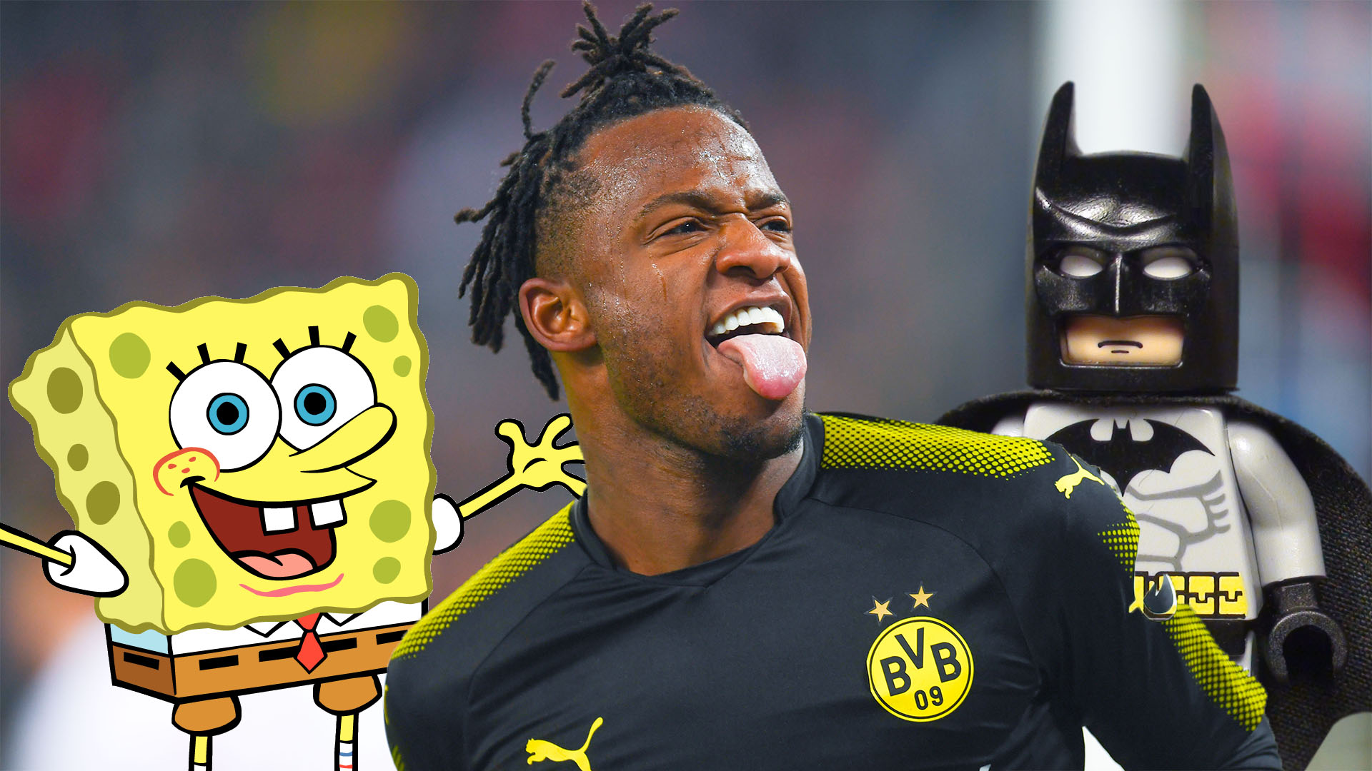 Batshuayi scores twice on Dortmund debut