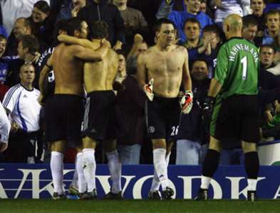 Terry Chelsea goalkeeper