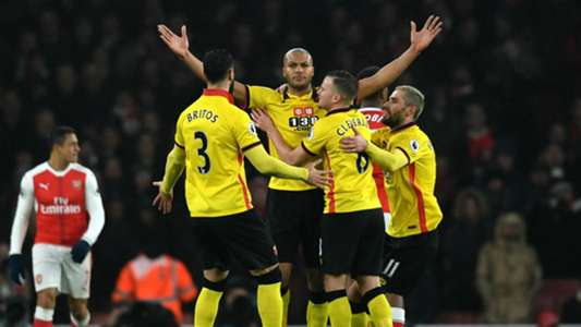 Younes Kaboul Premier League Arsenal v Watford