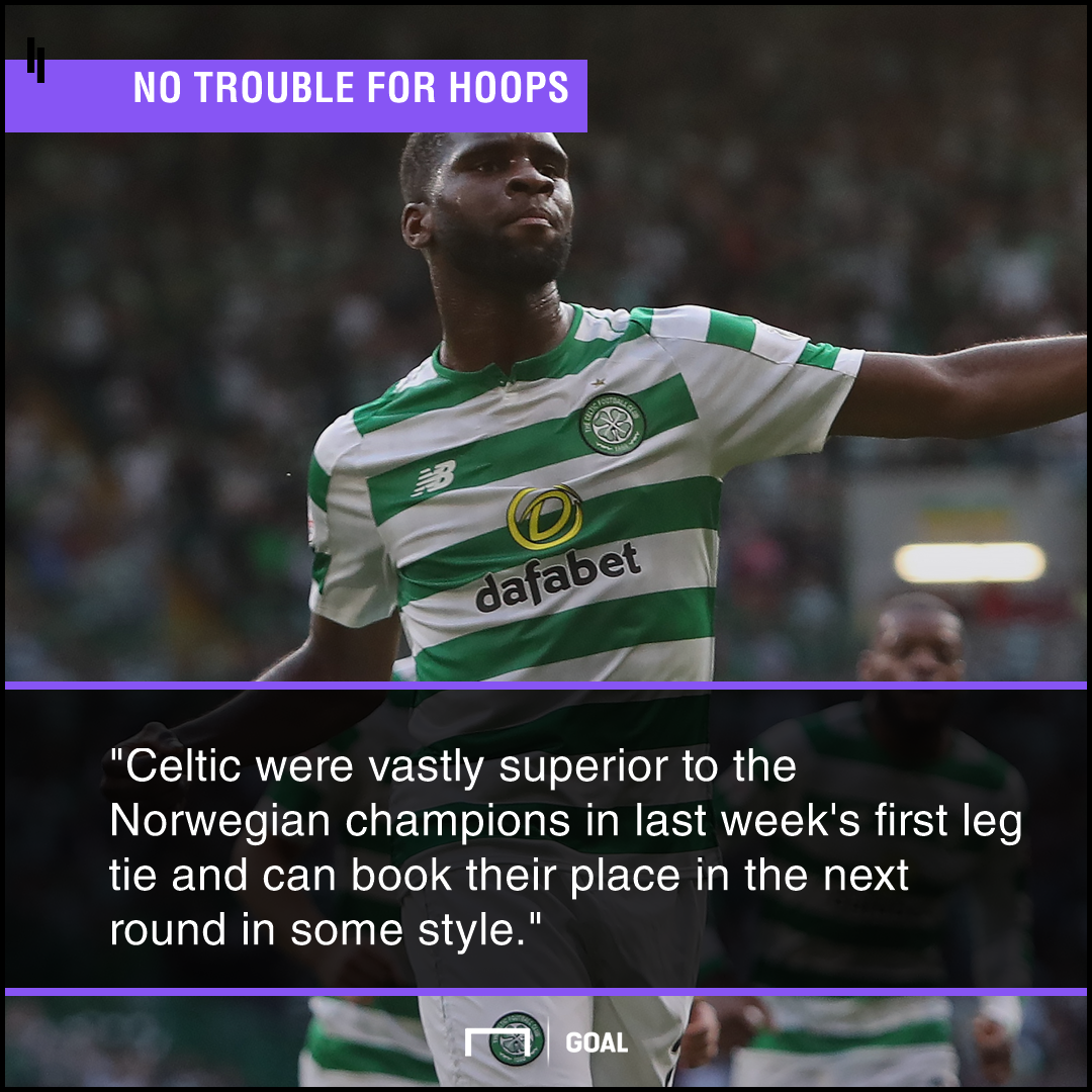 Rosenborg Celtic graphic