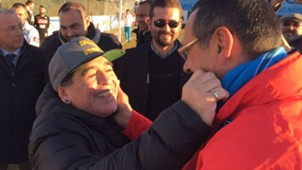 Sarri Maradona Napoli
