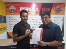 Marco Kabiay dan Gede Widiade - Persija Jakarta