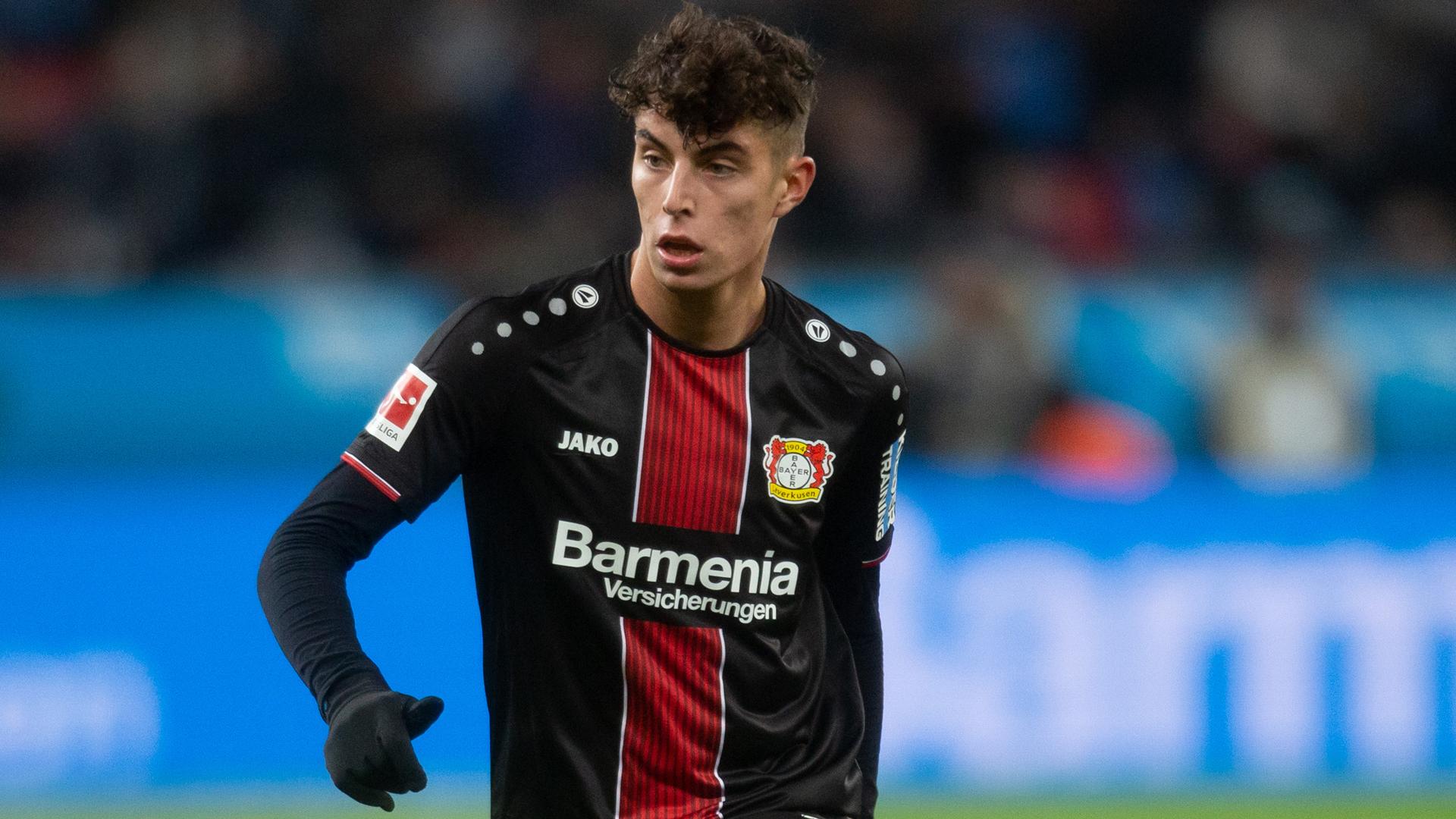 Kai Havertz Bayer Leverkusen 08122018