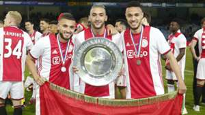 Zakaria Labyad Hakim Ziyech Noussair Mazraoui Ajax 05152019