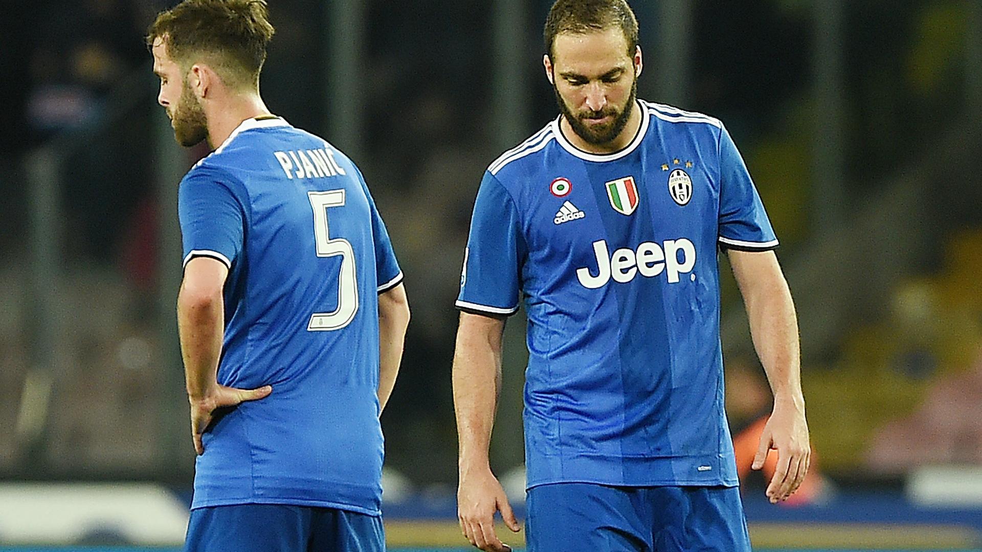 Higuain Napoli Juventus Serie A
