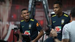 Allan Alex Sandro Brasil treino 12112018