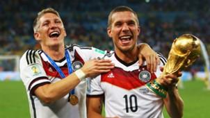 Bastian Schweinsteiger Lukas Podolski