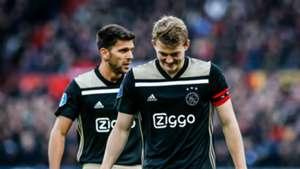 Matthijs de Ligt, Feyenoord - Ajax, Eredivisie 01272019