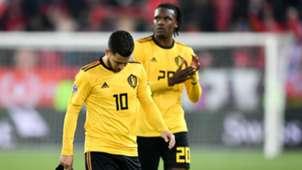 Eden Hazard Dedryck Boyata Belgium Nations League 18112018