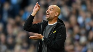 Pep Guardiola, Man City v Arsenal 17/18