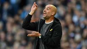 Pep Guardiola, Man City v Arsenal 17/18