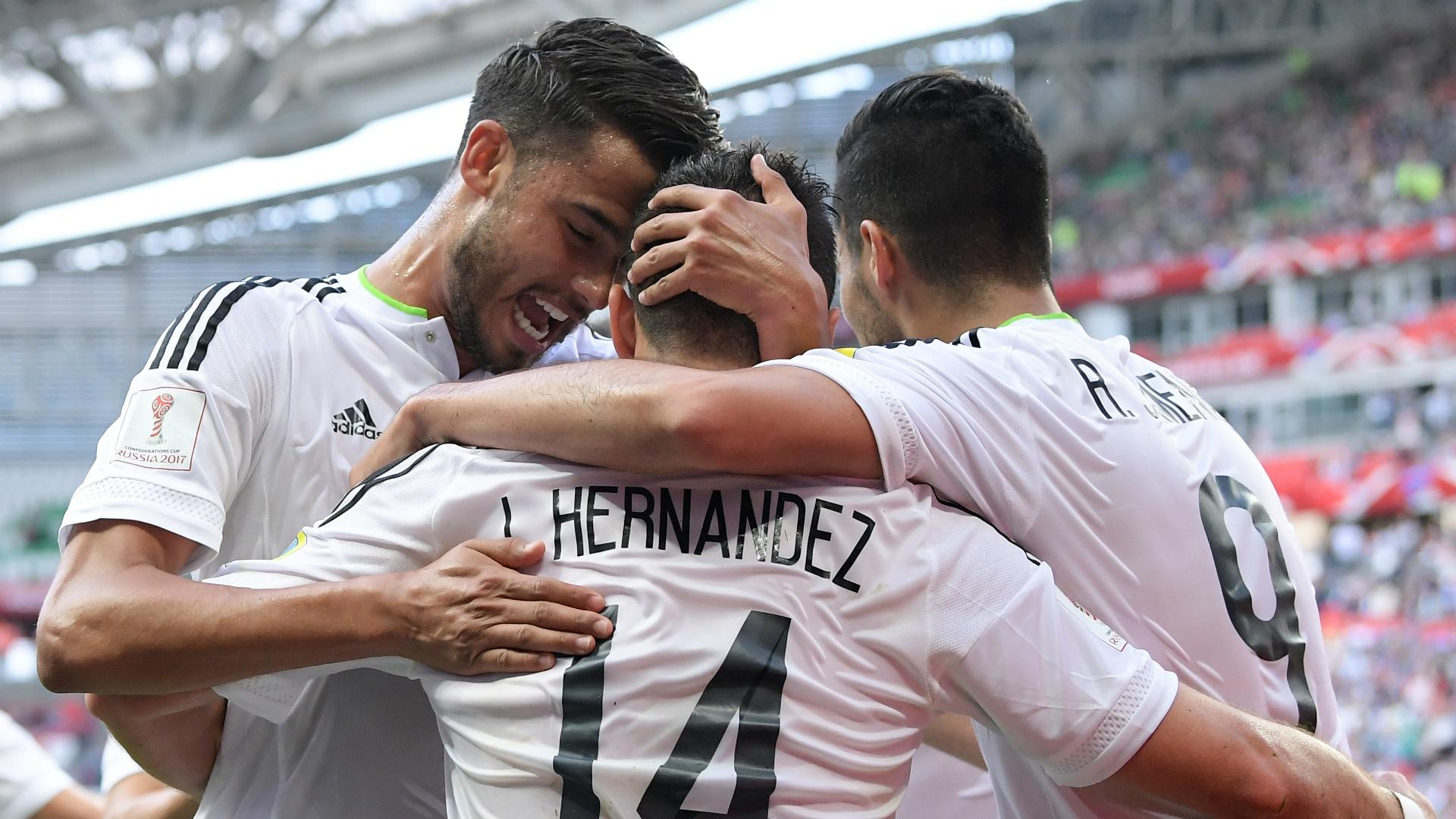 México - Portugal Copa Confederaciones
