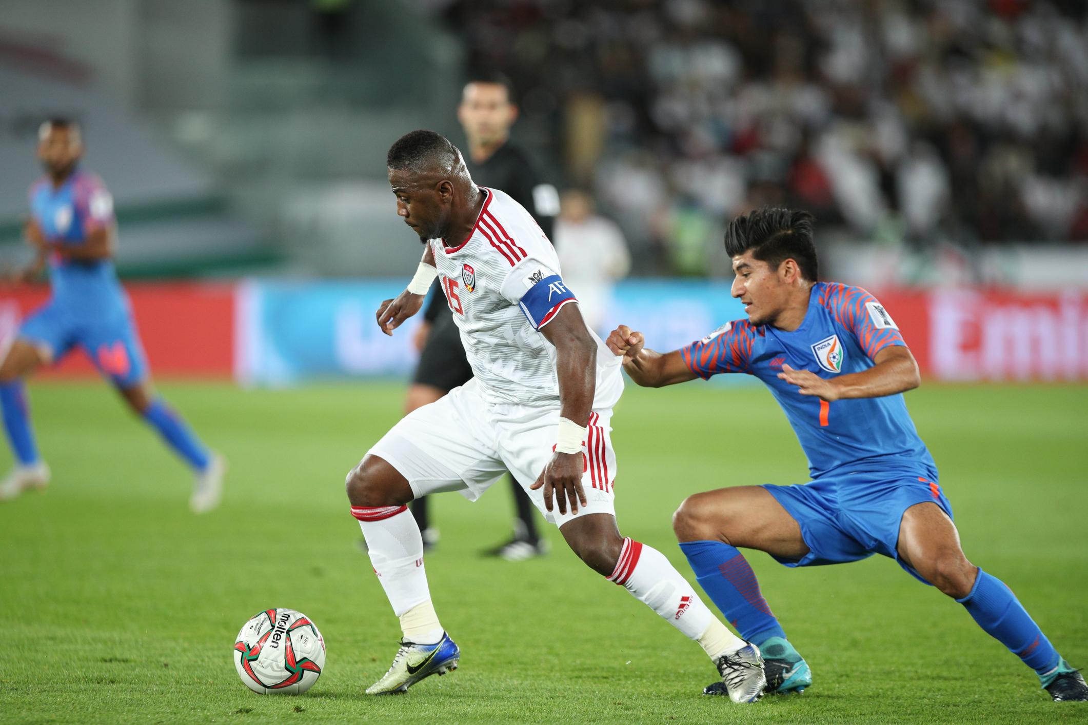 India vs UAE Anirudh Thapa