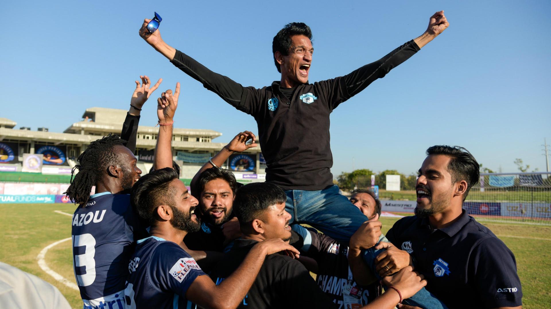 Ranjit Bajaj Minerva Punjab I-League 2017-18 champions