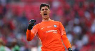 Courtois Manchester United Chelsea FA Cup