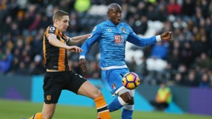 HD Michael Dawson Benik Afobe Hull Bournemouth
