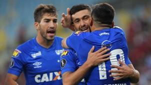 Arrascaeta Lucas Silva Robinho Flamengo Cruzeiro Copa Libertadores 08082018