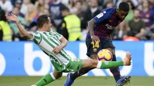 Malcom - Barcelona x Betis - 11/11/2018
