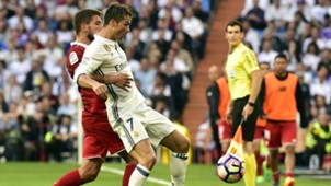 Real Madrid FC Sevilla Ronaldo Carrico 14052017