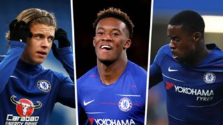 Conor Gallagher, Callum Hudson-Odoi, Marc Guehi, Chelsea