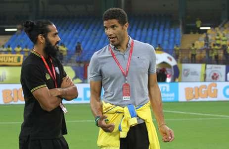 Sandesh Jhingan David James Kerala Blasters 2017-18 Indian Super League
