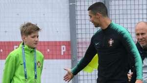 Cristiano Ronaldo Portugal treino  10 06 2018