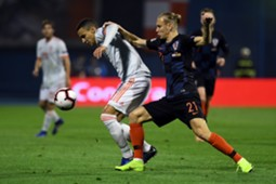 Rodrigo Vida Croatia Spain UEFA Nations League