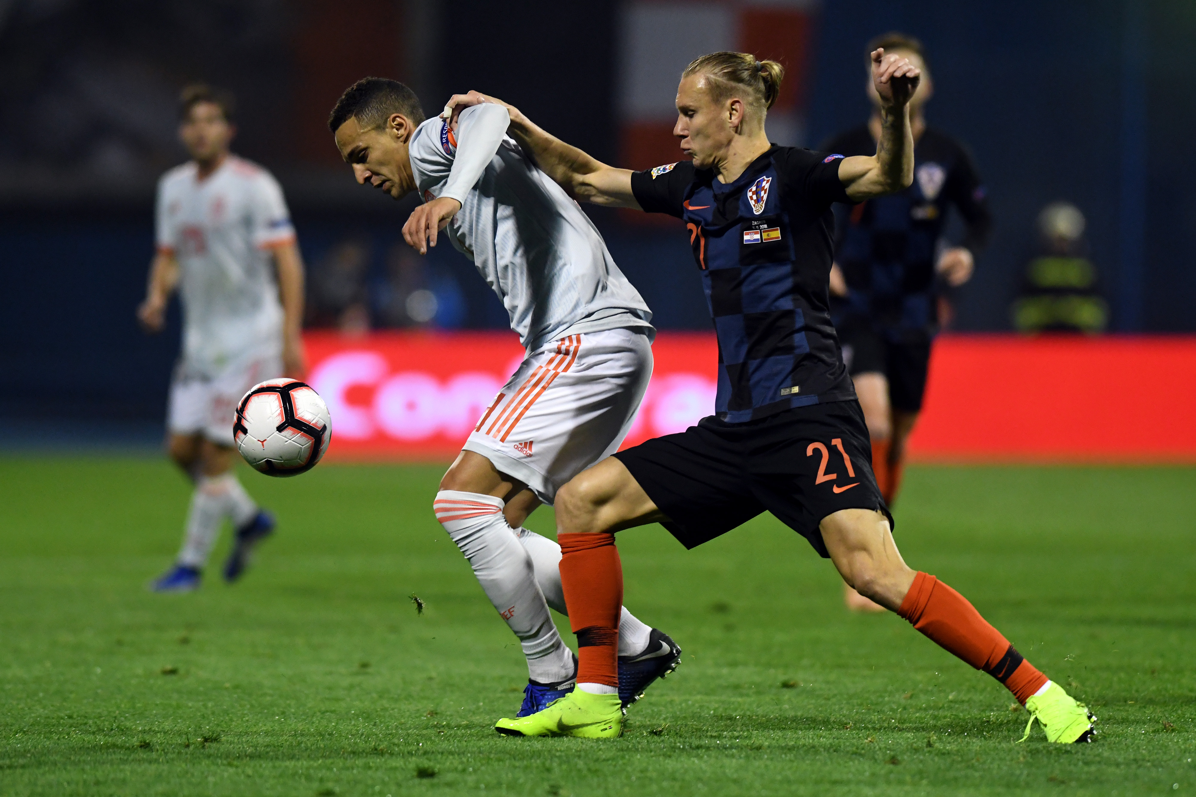 Rodrigo Vida Croatia Spain UEFA Nations League