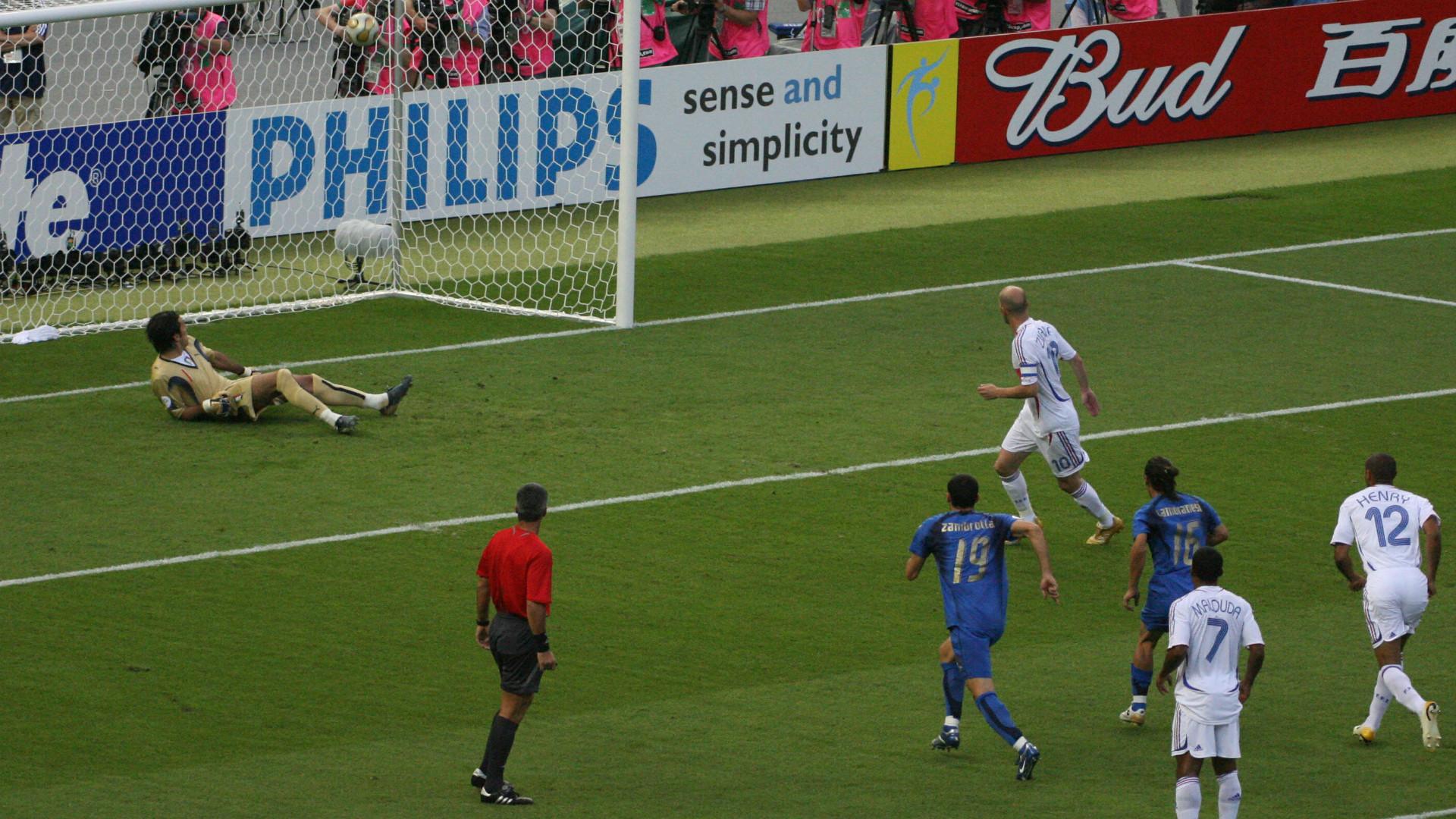 Zinedine Zidane France 2006