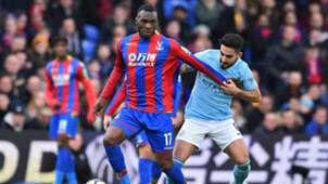 Christian Benteke Ilkay Gundogan Crystal Palace Manchester City