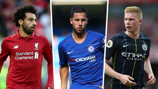 FIFA 19 ratings: Eden Hazard, Mohamed Salah & the best 30 Premier