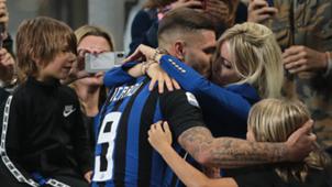 Wanda Nara Mauro Icardi Inter 2018-19