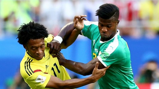 Juan Cuadrado Colombia Keita Balde Senegal World Cup 2018