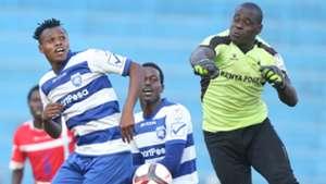 Samuel Odhiambo of Western Stima v AFC Leopards