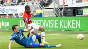 Myron Boadu, AZ - Feyenoord, Eredivisie 09162018