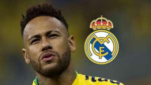 Neymar, Real Madrid logo